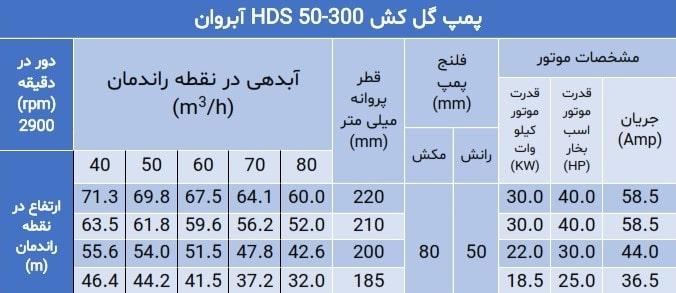 پمپ hds 50-300